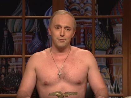 Американское шоу спародировало обращение Владимира Путина к жителям Америки после инаугурации Трампа