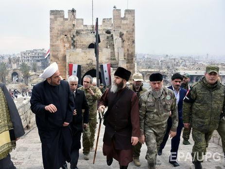 Фонд Кадырова восстановит старейшую мечеть Омейядов вАлеппо