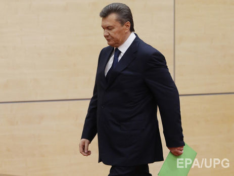Генеральная прокуратура вызвала надопрос беглого экс-президента государства Украины