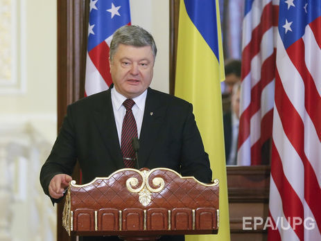Порошенко объявил оготовности крешительным действиям для освобождения Сенцова