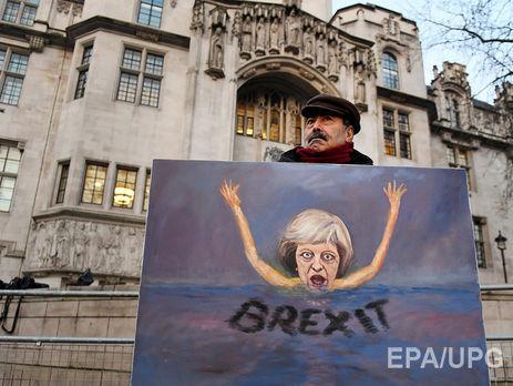 Великобритания начнет выход изЕС весной