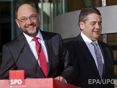 Борьба закресло канцлера Германии: Зигмар Габриэль принял решение выйти изгонки