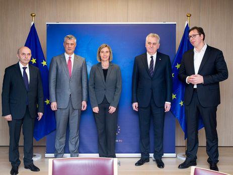 В Брюсселе встретились представители Косово и Сербии