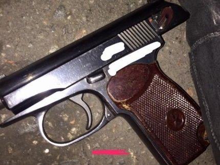 НаКиевском рынке стреляли— Пуля зазамечание