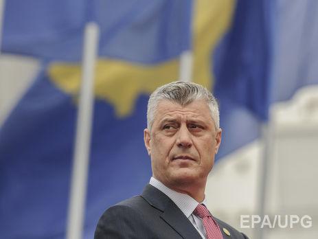 Хашим Тачи: Российская Федерация помогает Сербии подготовить раздел Косово