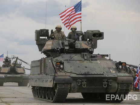 США наэтой неделе перебросят часть танков изПольши встраны Балтии