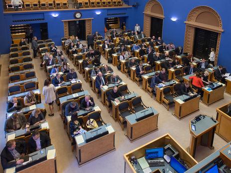 Парламент Эстонии— заужесточение санкций вотношении Российской Федерации