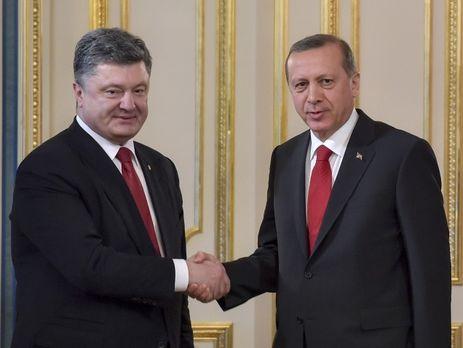 Порошенко: обеспечение мира врегионе Черного моря— общая задача Украины иТурции