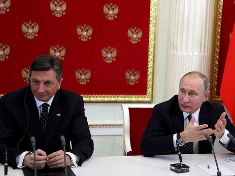 РФ иСловения подпишут договор попоставкам газа в2018—2022 годах