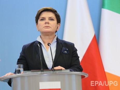 Премьер Польши Беата Шидло доставлена вбольницу после ДТП