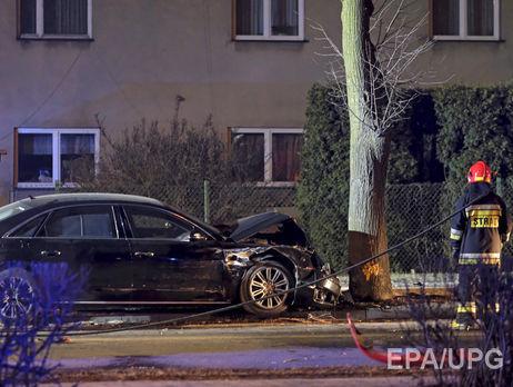 Водитель, спровоцировавший ДТП савто премьера Польши, признал свою вину