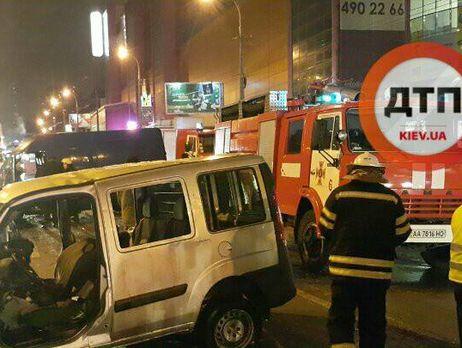 ВКиевской области в итоге ДТП пострадали 6 человек