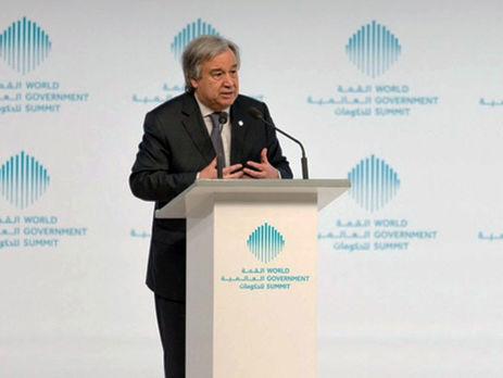 Генеральный секретарь ООН прокомментировал присоединение Россией Крыма