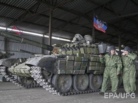 Боевики обстреляли ОБСЕ, когда она нашла замаскированный танк «ДНР»