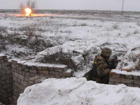 Взоне АТО умер украинский боец, четверо— ранены