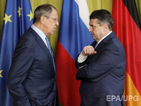 Лавров и руководитель МИД ФРГ обсудили напервой встрече Украинское государство иСирию