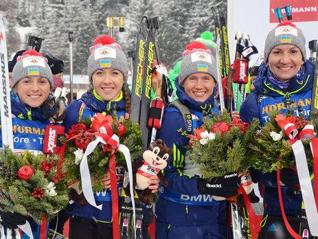 Две украинки вошли втоп-10 особой гонки чемпионата мира побиатлону