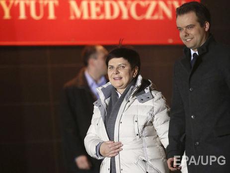Возникла информация осостоянии пострадавшей вДТП премьера Польши