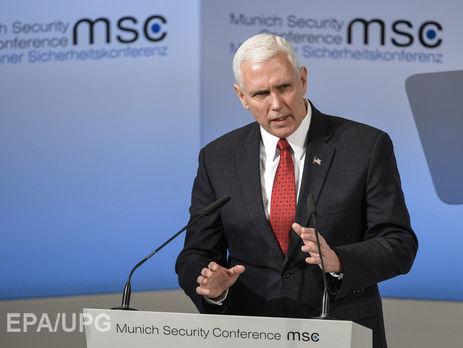 США уверенно поддерживают НАТО— вице-президент Пенс