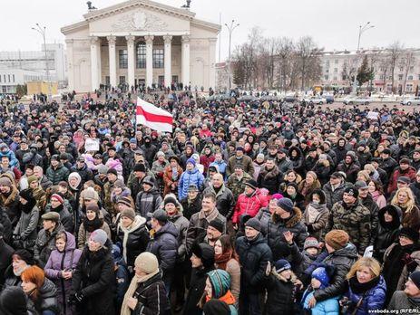 В Беларуси продолжаются массовые протесты против