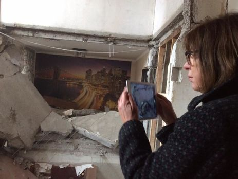 Всамом начале АТО вАвдеевке повреждено неменее тысячи домов,— Геращенко