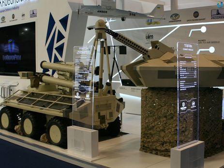 «Укроборонпром» подписал новые договоры навыставке вОАЭ