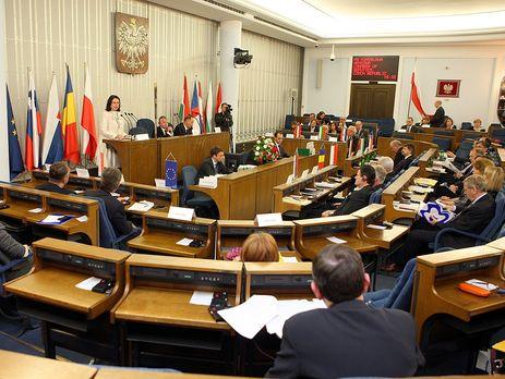 ВПольше Сенат отказался исключить украинский национализм иззаконопректа