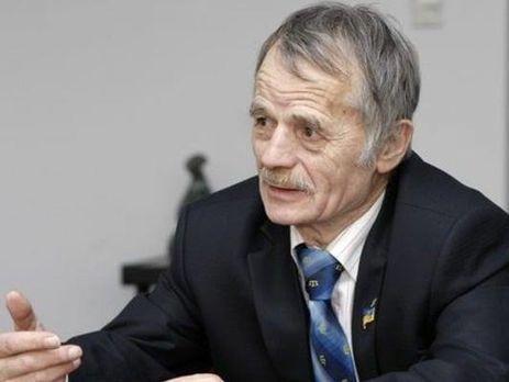 Джемилев призвал Киев отказаться отмысли вернуть Крым силой