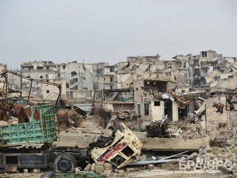 РФ потребовала уЕС средства навосстановление Сирии