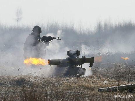 Боевики «ЛНР» устроили стрельбу вприсутствии наблюдателей миссии ОБСЕ,— штаб АТО