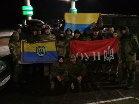 Участники «блокады Донбасса» открыли новый редут
