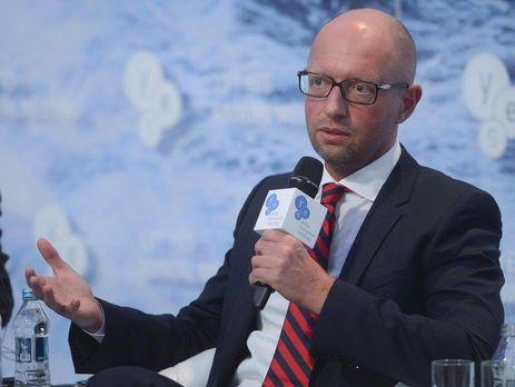 Яценюк несобирается становиться главой Нацбанка Украины