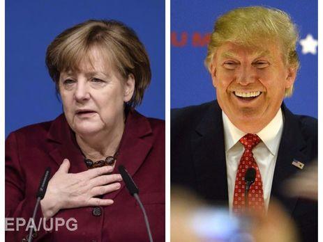 Меркель летит вВашингтон