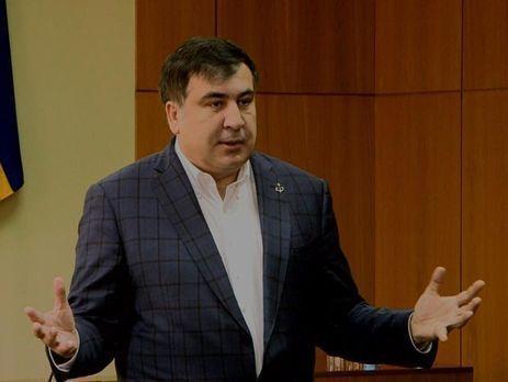 Саакашвили пожелал стать «отцом-основателем» государства Украины