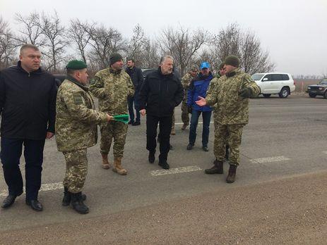 Контрольный пункт въезда/выезда «Новотроицкое» перенесут на8км клинии разграничения— Жебривский