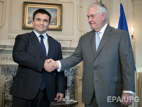 Госсекретарь США уверил  Климкина вподдержке Украины