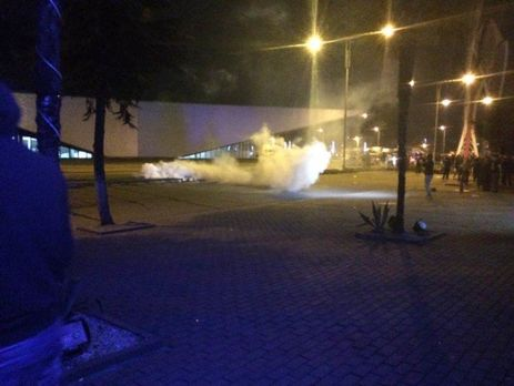 Милиция  для разгона протестующих вБатуми применила газ