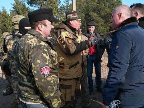 ВХарьковской области блокадникам недали перекрыть ж/д уграницы сРФ