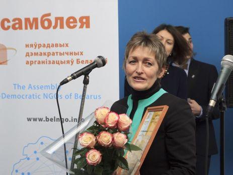 Журналист'Радые Свабода Абакунчик проведет ночь в изоляторе временного содержания