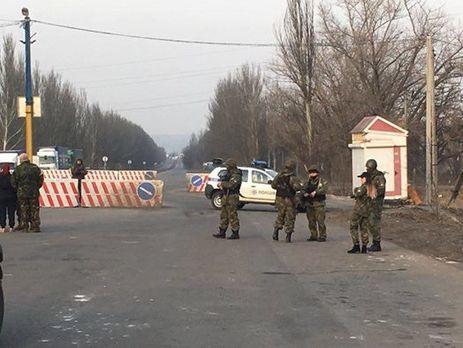 Милиция открыла огонь впроцессе стычки сблокадниками вКонстантиновке