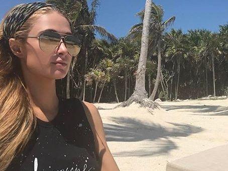 Полу обнаженная девушка остров фото