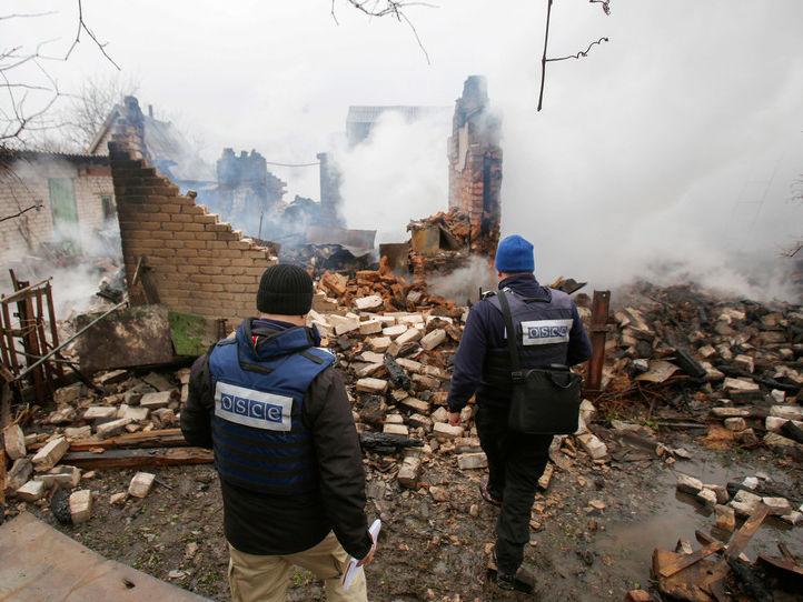 """Результат пошуку зображень за запитом """"По ОБСЄ стріляют під Ясинуватою"""""""