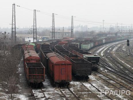 ВОРДЛО осталась четверть грузовых вагонов «Укрзалізниці»