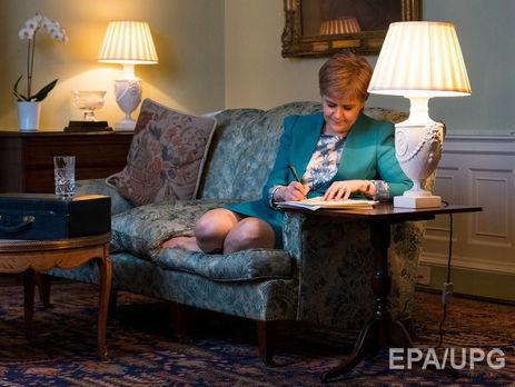 Власти Шотландии просят уМэй разрешения нареферендум онезависимости