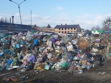 Сегодня изЛьвова вывезут последний мешок мусора