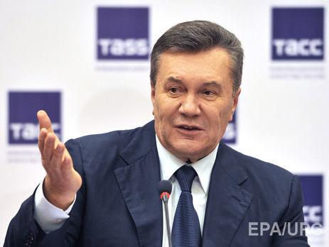 Источник утверждает, что Янукович был сильно пьян