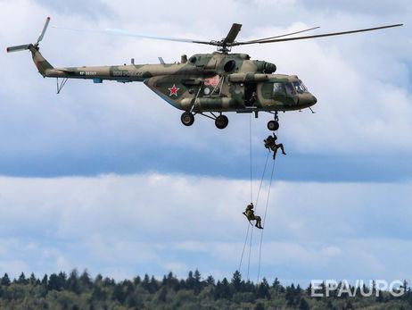 ВКрыму состоялись общие учения морских пехотинцев иартиллеристов