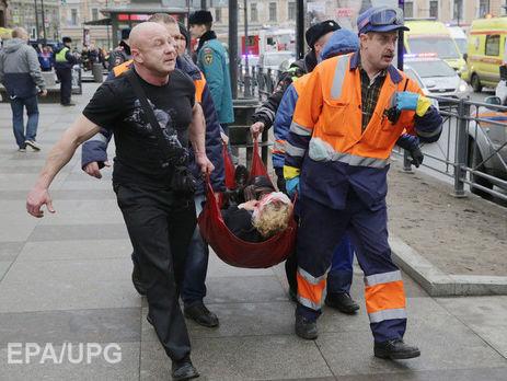 Трёх служащих петербургского метро наградят задействия впроцессе теракта