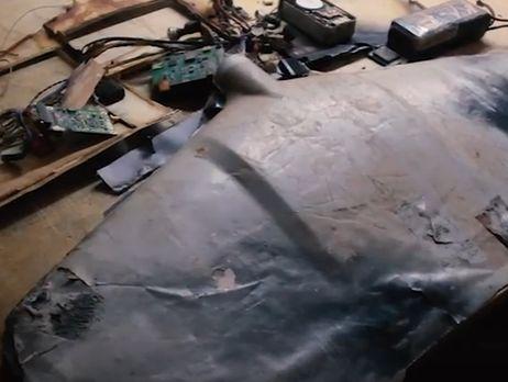 Врайоне Светлодарской дуги обнаружен беспилотник смаркировкой ФСБРФ