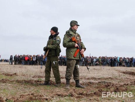 АТО: боевики сорвали разведение сил вСтанице Луганской